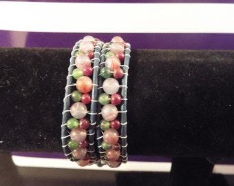 Doouble wrap bracelet Earthy Bracelet