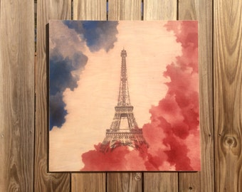 French Flag Wall Hanging