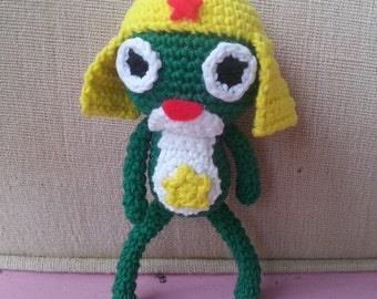 Keroro Gunso Amigurumi Doll Keychain