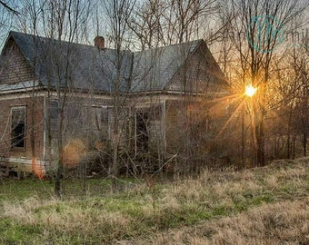 Urban Decay, Abandoned, Rural Decay,  Wall Decor, Home Decor, Fine art print, Fine art photography, Photography