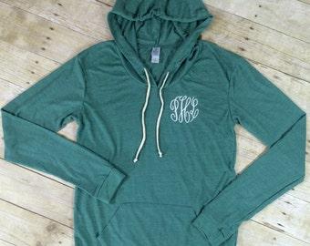 Monogram Lightweight Hoodie | Monogram Hoodie Shirt | Monogram Sweatshirt | Monogram Sweater | Monogram Hoodie