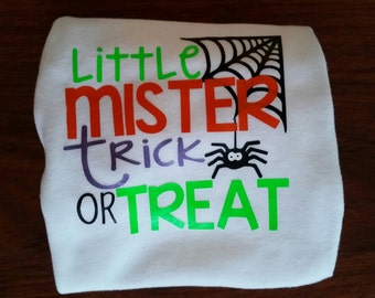 Little Mister Trick or Treat