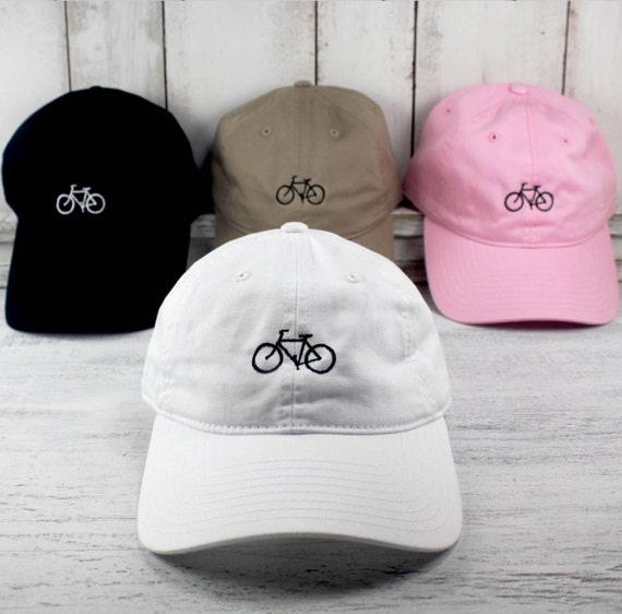 New Bike Icon Baseball Cap Curved Bill Dad Hat 100 Cotton