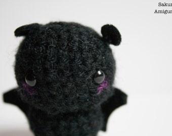 Amigurumi Kawaii Plush Keychain-Pipistrelllo-Bat-Crochet-Crochet-Soft