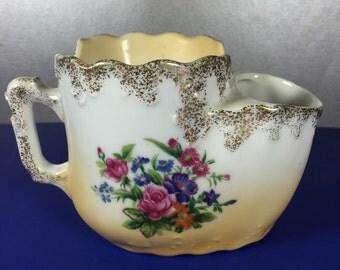 Shaving Mug / Porcelain
