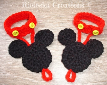 Crochet PDF Pattern- Baby Mouse Barefoot Sandals