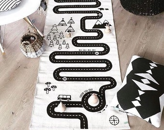 Limited Offer: Adventure Rug Play Mat. Cars Ultimate Play Rug. Free Shipping