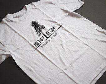 Portland Left of Center Hemp T Shirt