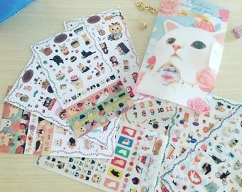Cutie Cat Sticker Booklet/Collection