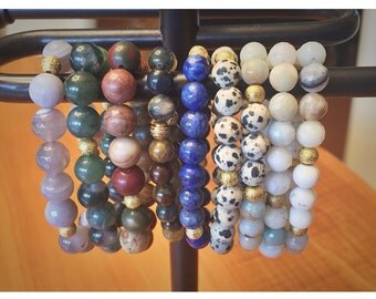 Gorgeous Beaded Stackable Bracelets