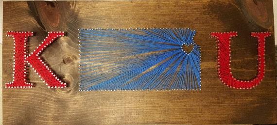 KU String Art