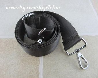 Dark Grey Bag Strap