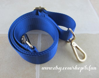 Blue Bag Strap