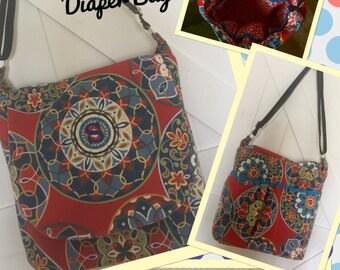 Custom Extra Large DIAPER BAG