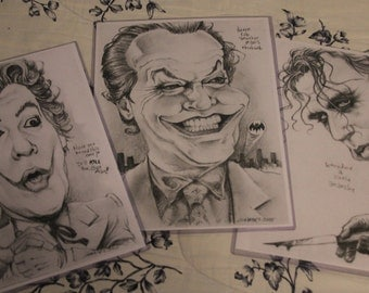 The Joker art prints 3-pack