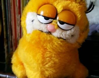 Vintage 1980s Mini Garfield Plush by Applause/Jim Davis Cartoon/Comics/Garfield the Cat