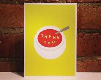 Alphabet Soup Thank You