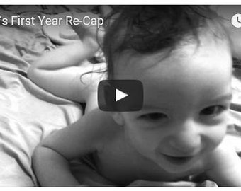 Personalized Video Montage (Baby's First Year, First Year of Marriage, etc.)