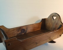 Unique Wooden Cradle Related Items Etsy