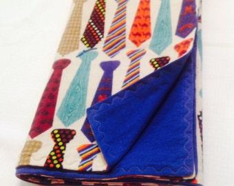 Neck Tie Baby Blanket