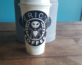 Jack Skeleton Starbucks cup