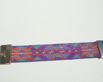 Bracelet cuff, chic boho, ethnic