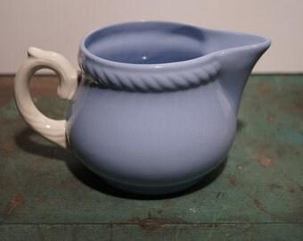 Homer Laughlin Blue Creamer