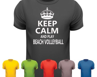 Keep Calm & Play Beach Volleyball t-shirt