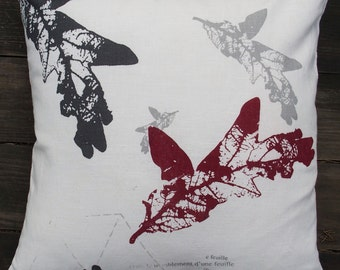 Handprinted CUSHION COVER
