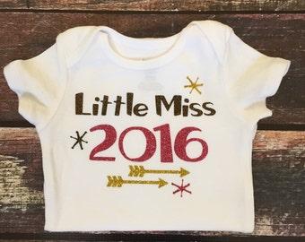 Little Miss 2016 Onesie