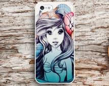 Mermaid Beautiful Ariel Case iPhone 5s 5c 4s 6s 6 Plus Cases,Samsung case,iPod Touch case,HTC case,LG case,Nexus case,Xperia Cases