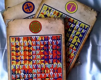 Enochian Magick Elemental Tablets