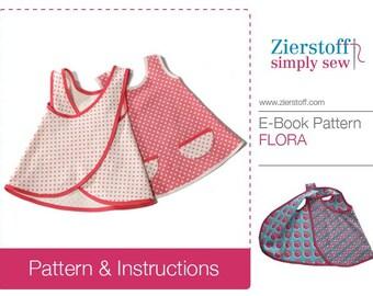 FLORAs doll dress pattern / INSTANT DOWNLOAD