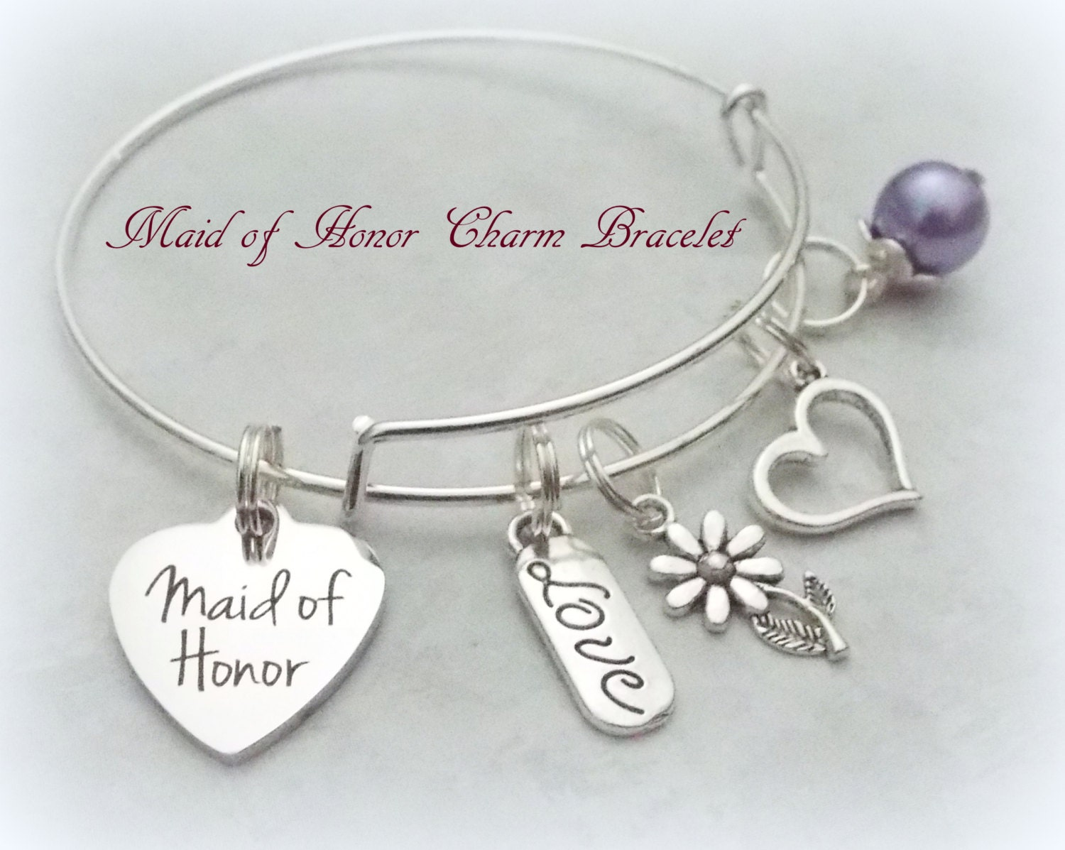Maid Of Honor Gifts From Bride: Bride Gifts Maid Of Honor Gift Maid Of Honor Bracelet Gift
