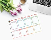 Planner Stickers File Folder in Pastel Rainbow Colours CAM00084