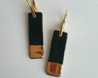 Gold Luster Earrings