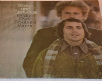 Simon and Garfinkel - Bridge Over Troubled Water LP Vinyl Album Record