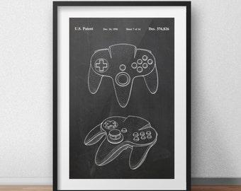 Nintendo 64 controller Patent