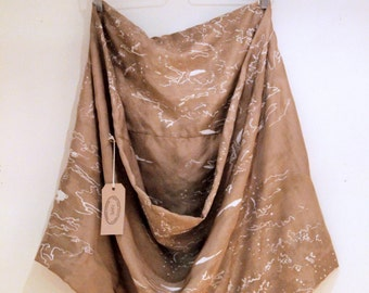 Scarf 100% silk