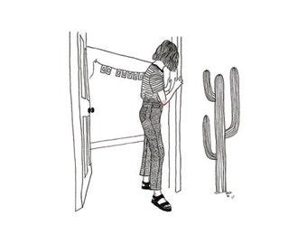 Go Outside Illustration