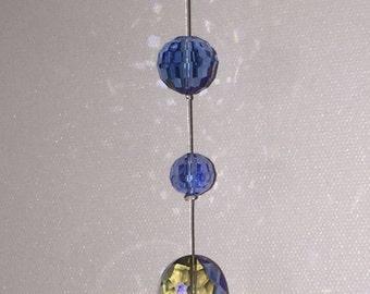 Blue Heart Suncatcher (A-7)