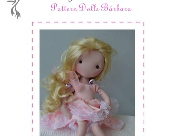 PDF - VIDEO TUTORIAL - doll fully articulate fabric