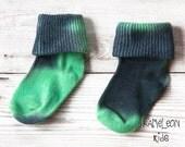 Green Kids Socks -Green B...