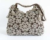 Crochet Bag Pattern - Crochet Purse Pattern - Handbag - Messenger Bag - Shoulder Bag - Crossbody Bag - Drawstring Bag - PDF Pattern