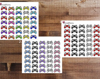 35 Video Game Controller Stickers