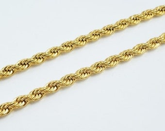 """18K Gold Filled Chain 17"""" Inch CG161"""