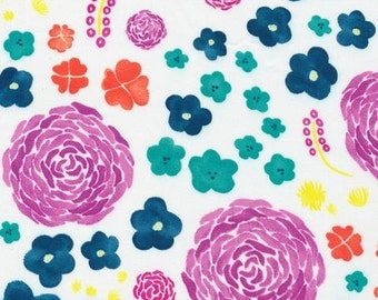 Bouquet Multi - 1/2 Yard -  From Brush Strokes by Holly DeGroot for Cloud9 Fabrics