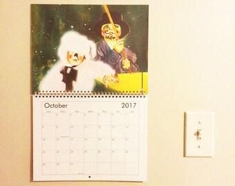 2017 Art Wall Calendar
