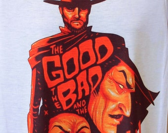 Clint Eastwood The Good the Bad and the Ugly, T-Shirt,tshirt,gift,shirt,gift,tshirts,t shirts,t-shirts,tees,t shirt