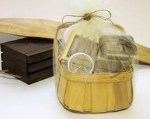 GIFT BASKET - Unique Handmade Soap Gift Basket - Best Handmade Soap